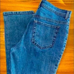 Charter Club High Waisted Size 8 Jeans Vintage Mom